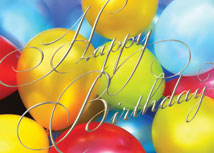 Happy Birthday Balloons Birthday Cards